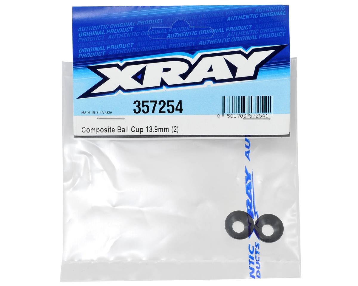 XRAY 13.9mm Composite Ball Cup (2)