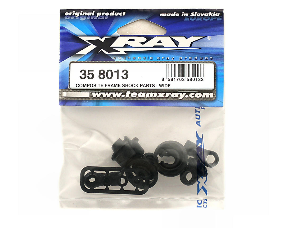 XRAY Composite Frame Shock Parts Wide