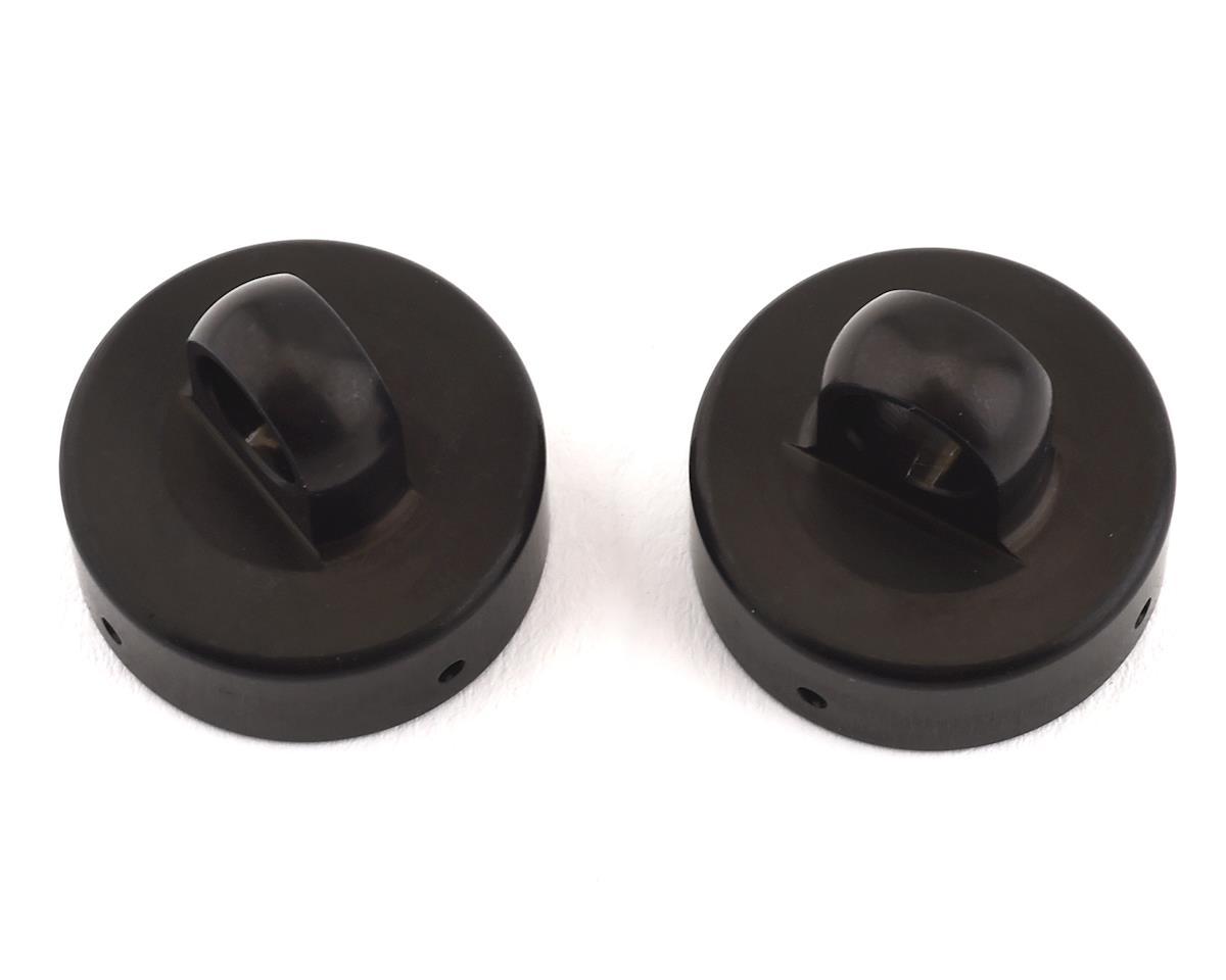 XRAY XB8 Aluminum Shock Cap Nut w/Bleed Hole (2)
