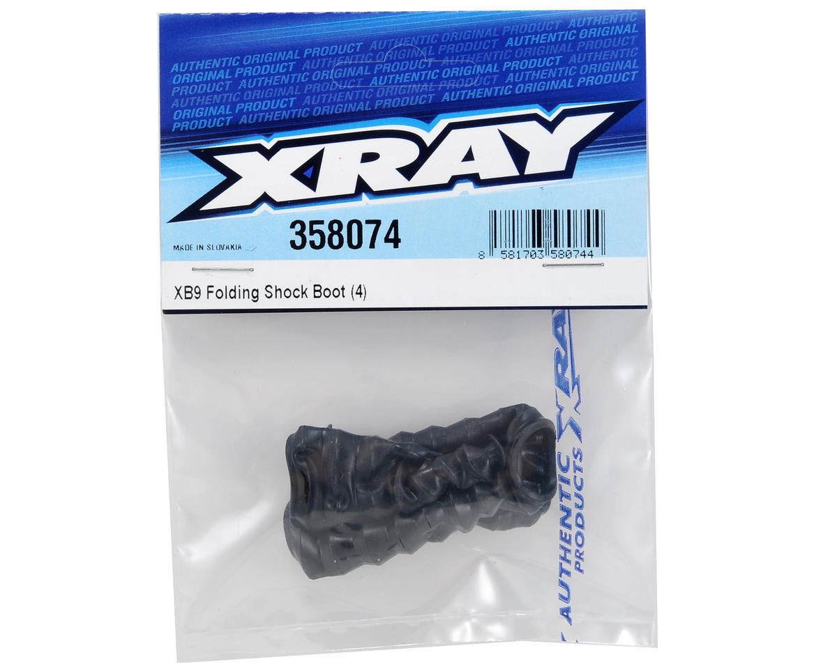 XRAY Folding Shock Boot Set (4)