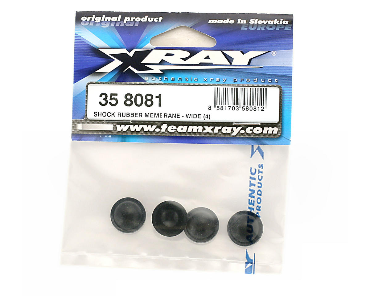 XRAY Shock Rubber Membrane Wide (4)