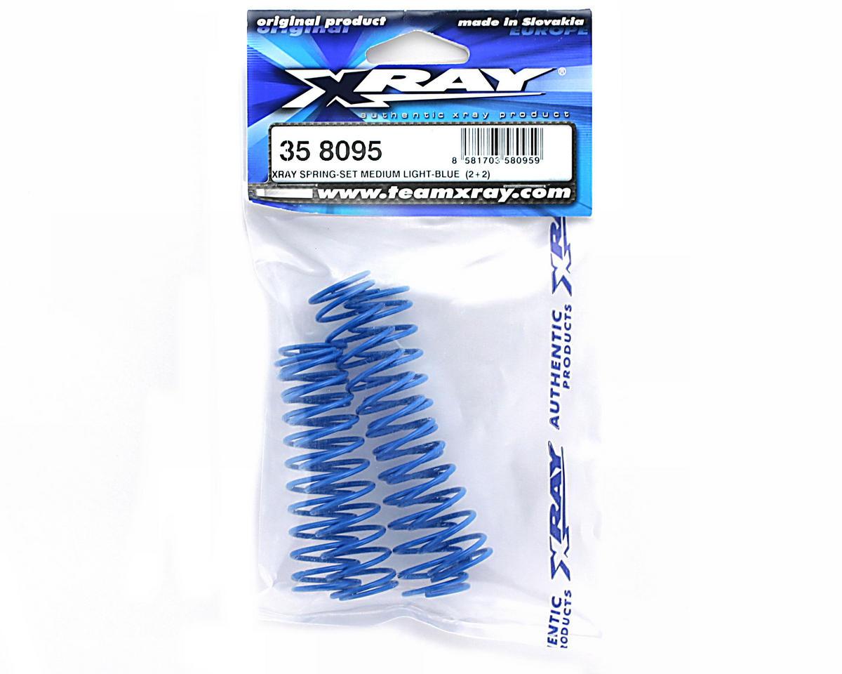 XRAY Spring Set Medium Light-Blue  (2+2)