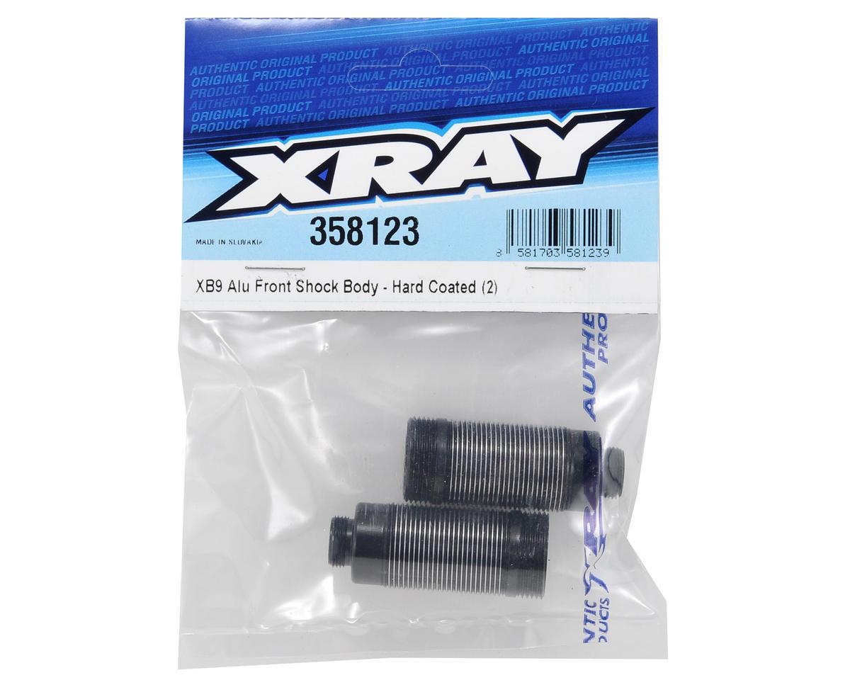 XRAY Hard Coated Aluminum Front Shock Body Set (2)