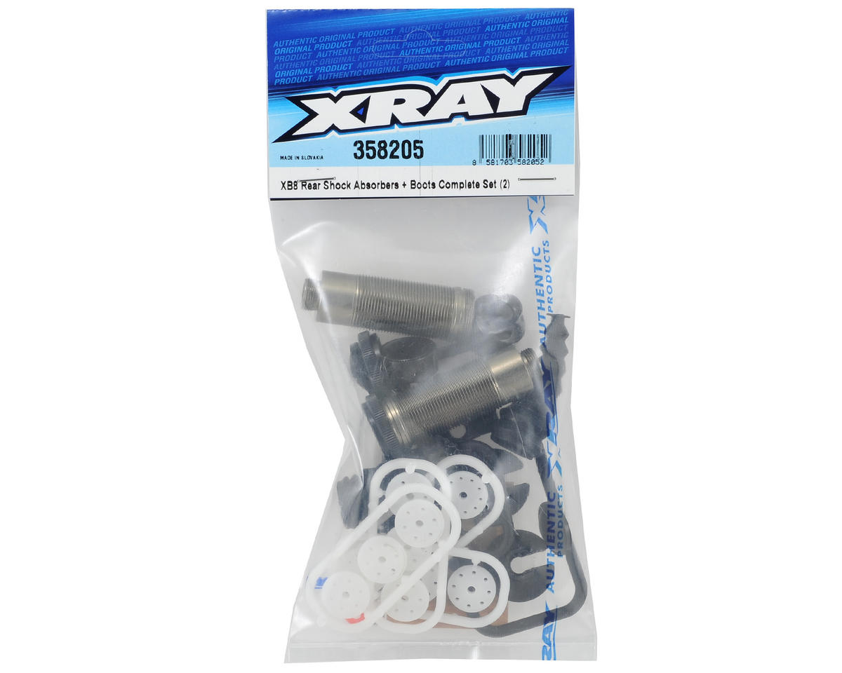 XRAY XB8 Rear Shock Absorber Set (2)
