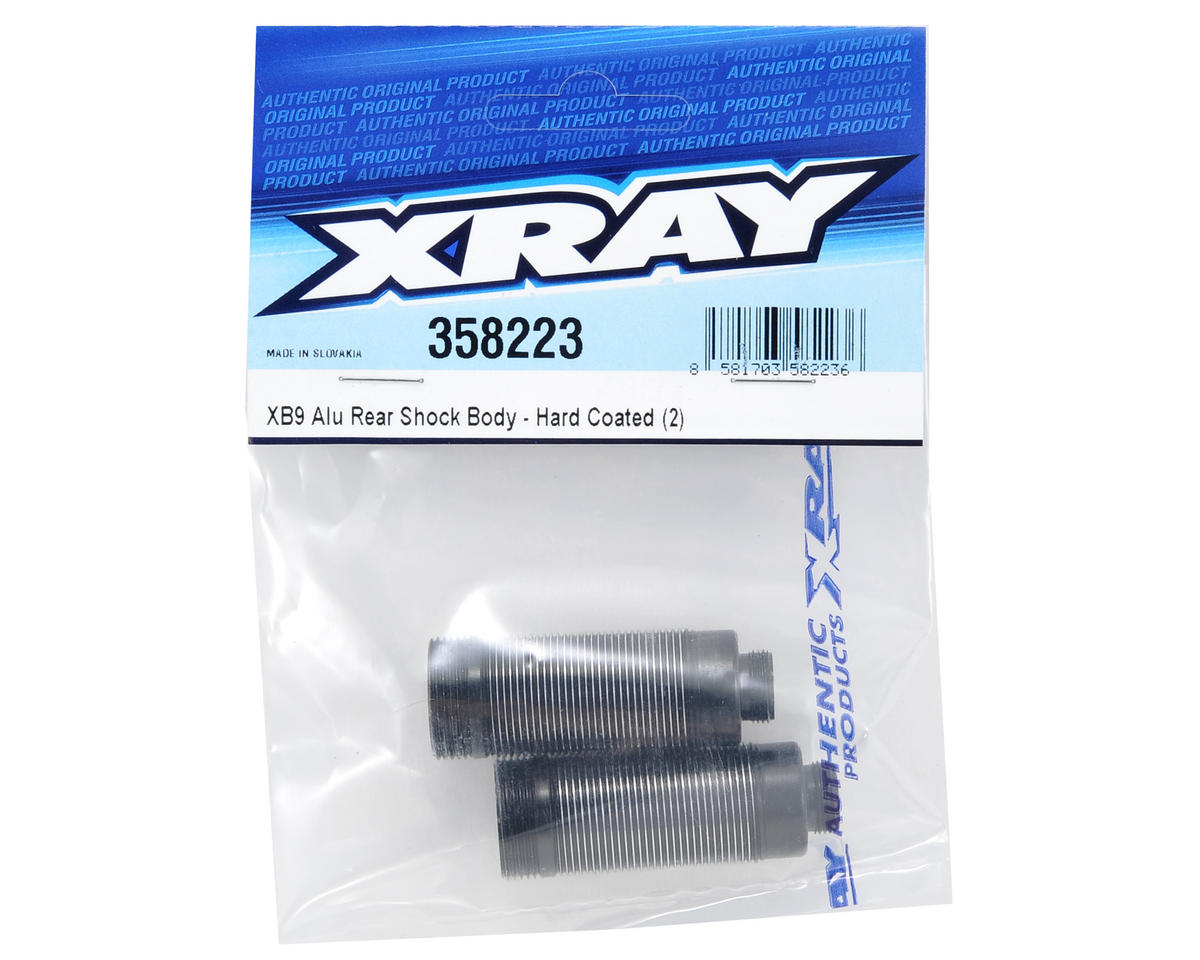 XRAY Hard Coated Aluminum Rear Shock Body Set (2)