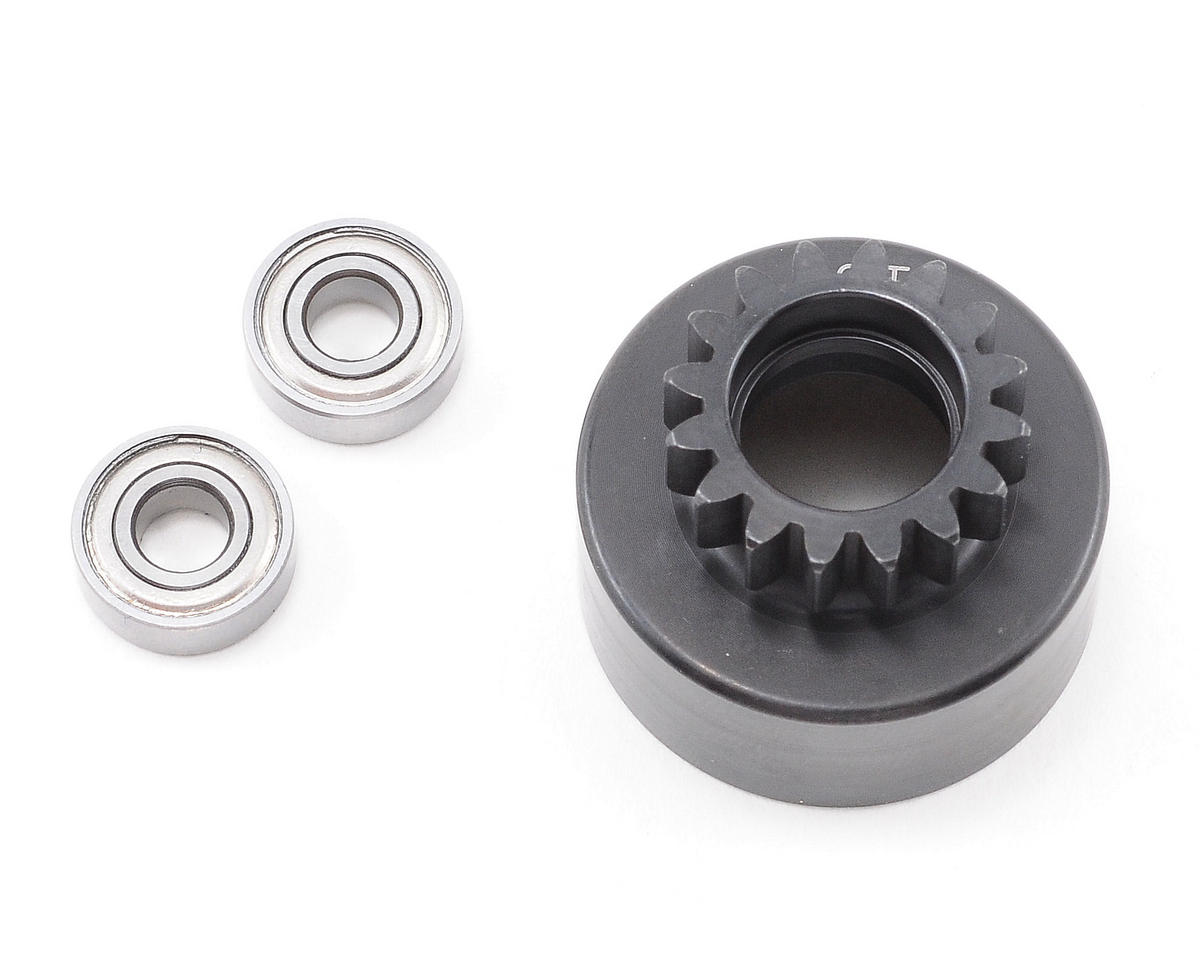 XRAY 16T Clutch Bell With Oversized 5x12x4mm Ball-Bearings (XB808)