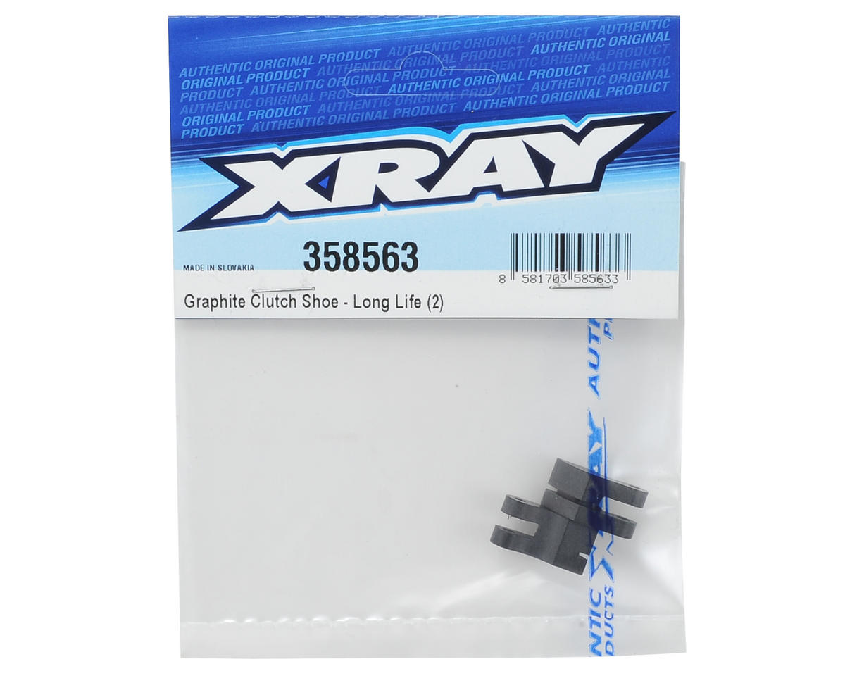 XRAY Long Life Graphite Clutch Shoe (2)