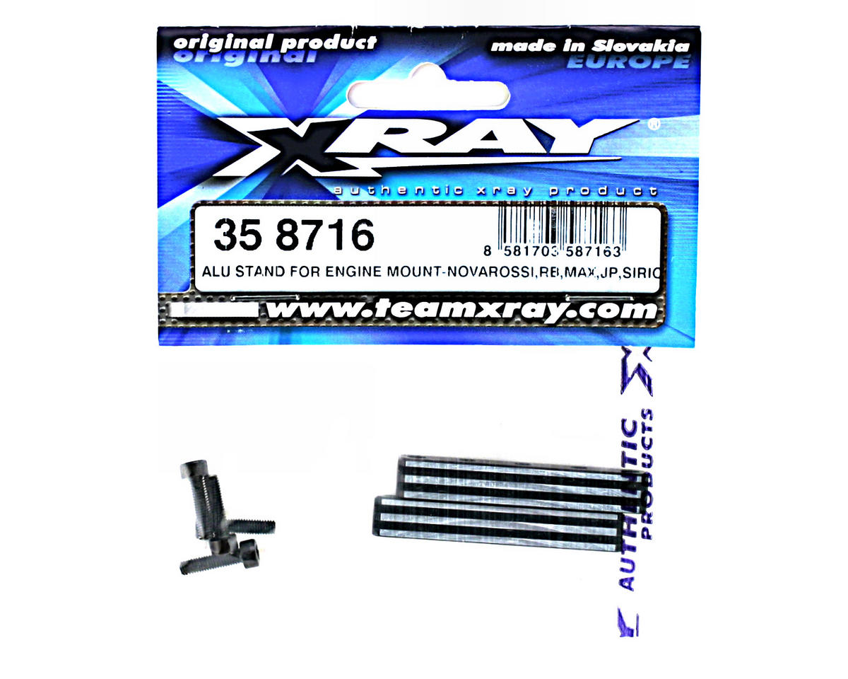 XRAY Aluminum Stand For Engine Mount - Novarossi, Rb, Max, Jp, Sirio