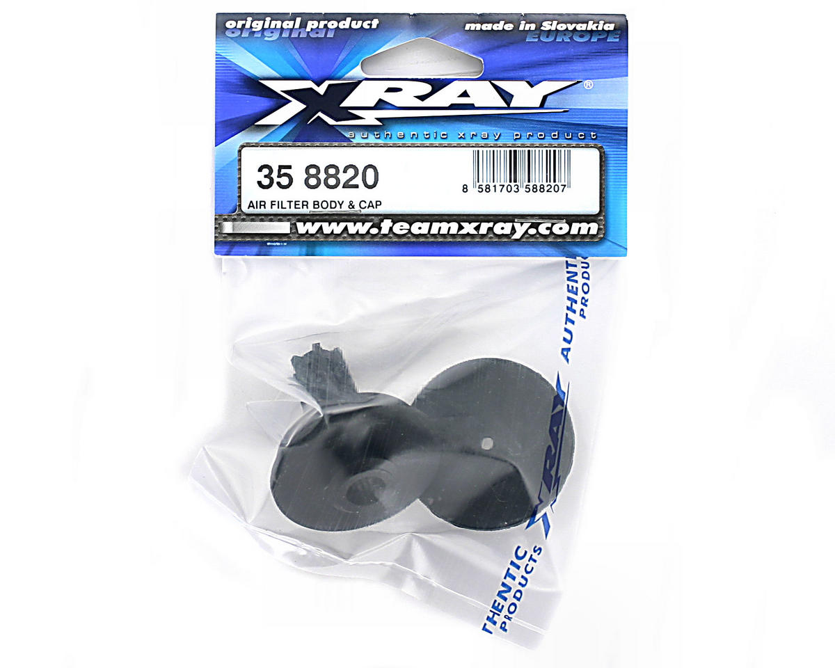 XRAY Air Filter Body & Cap