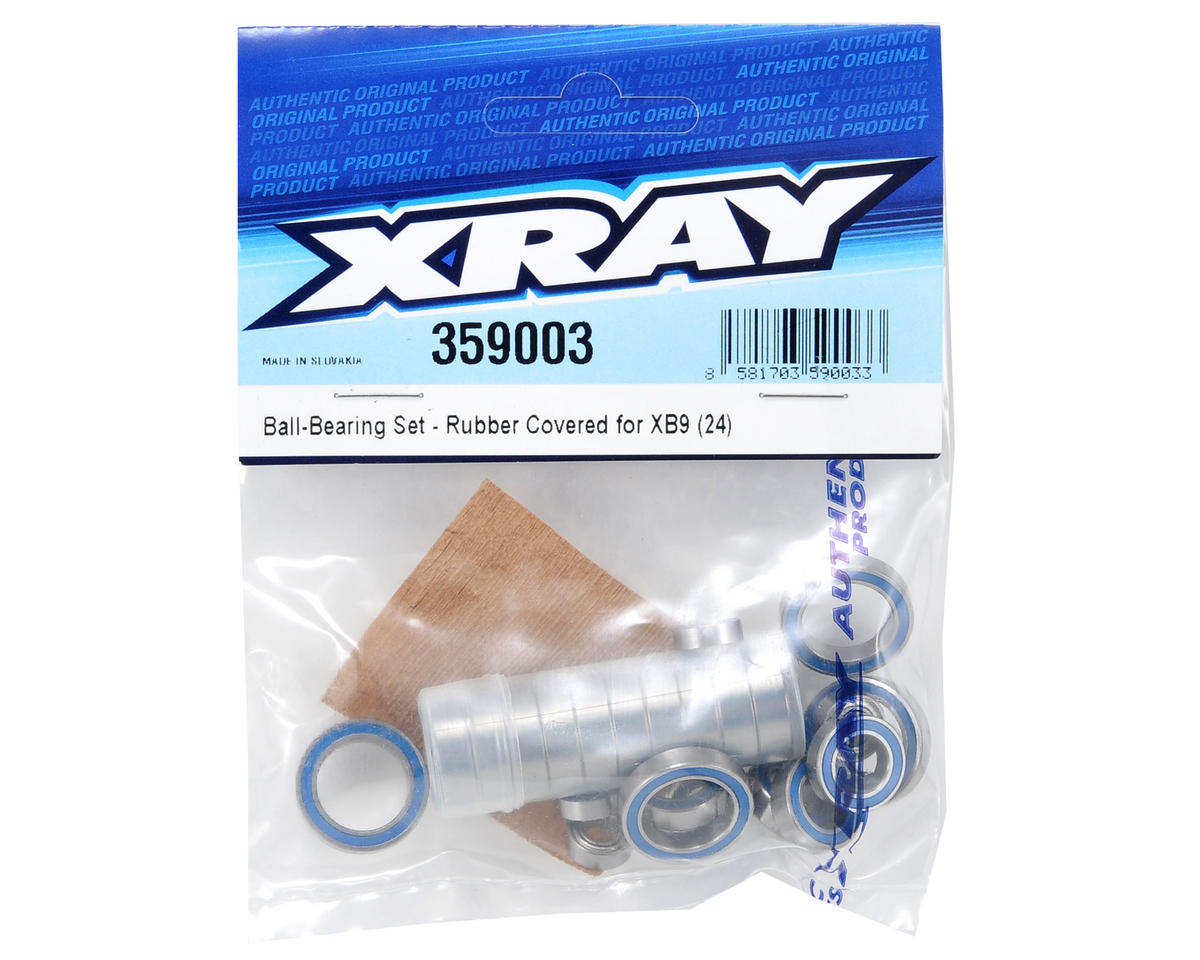 XRAY Rubber Shielded Ball Bearing Set (24)