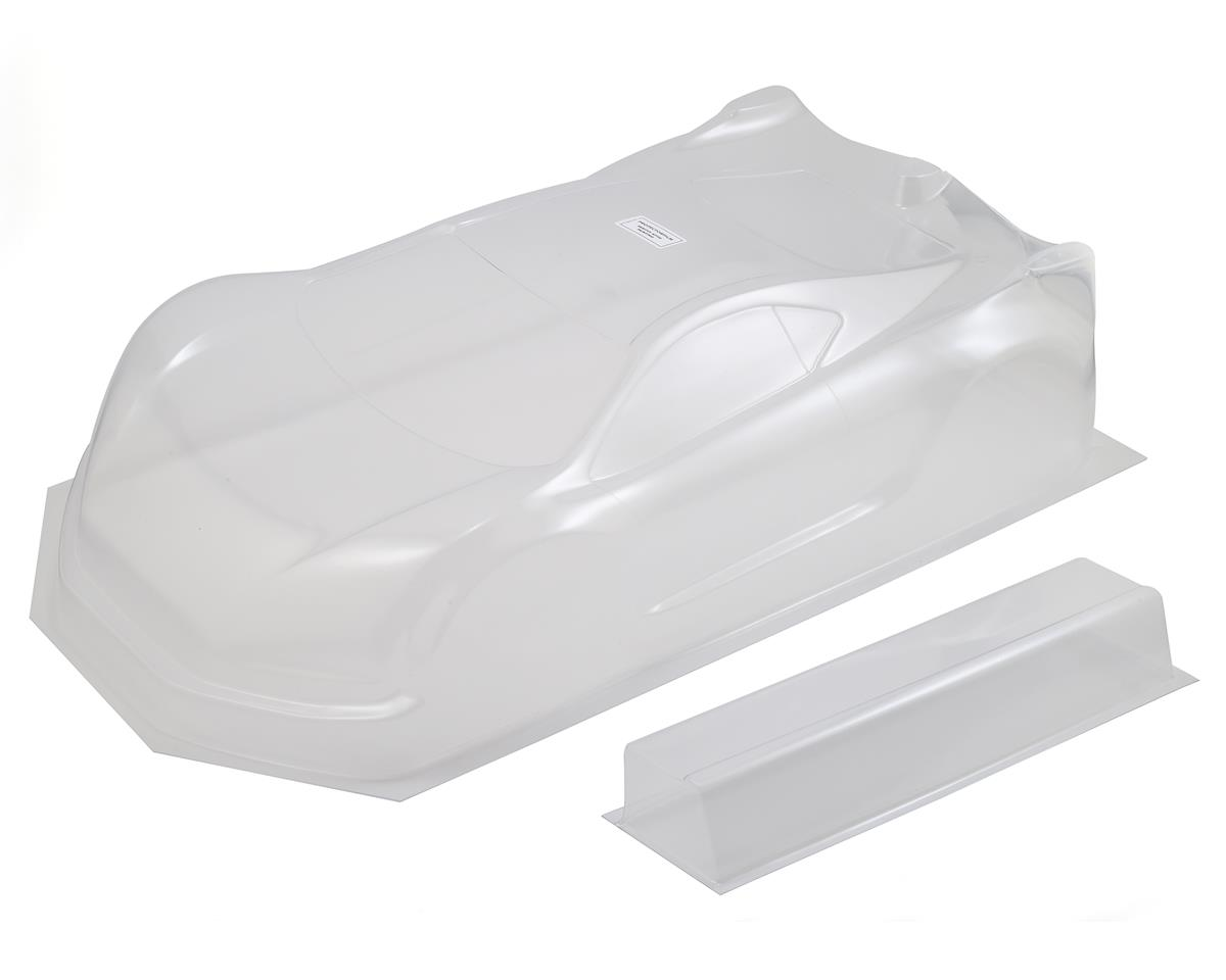 XRAY GTXE 1/8 On-Road GT Body w/Wing (Clear)