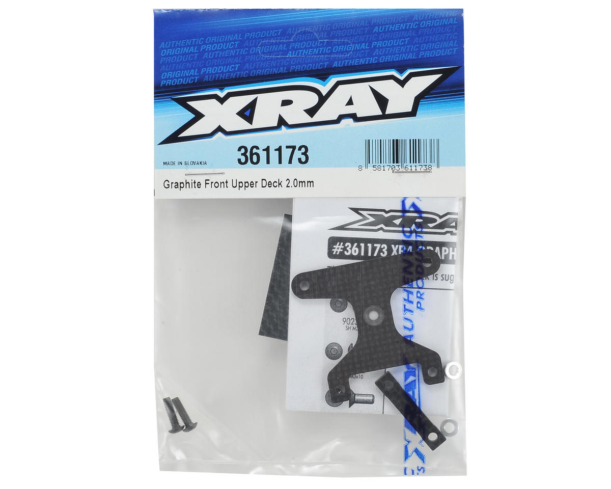 XRAY XB4 2015 2.2mm Front Upper Plate