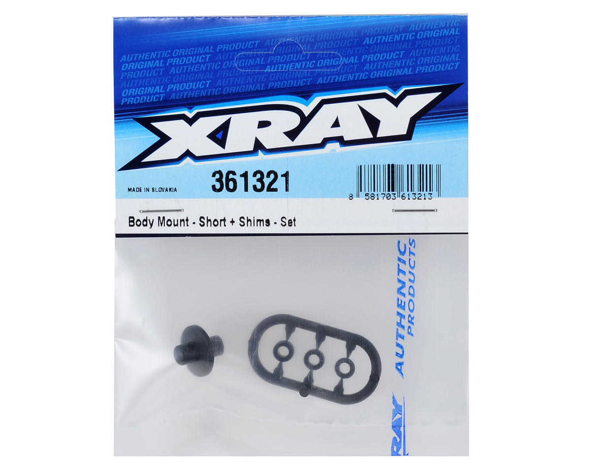 XRAY XB4 Short Body Mount Set