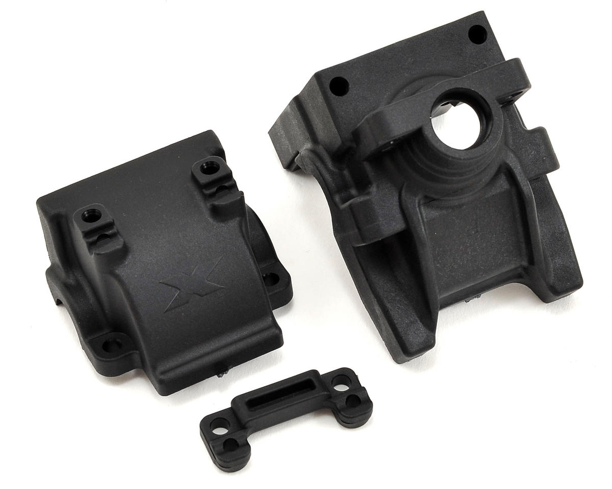 Front Differential Bulkhead Block Set by XRAY
