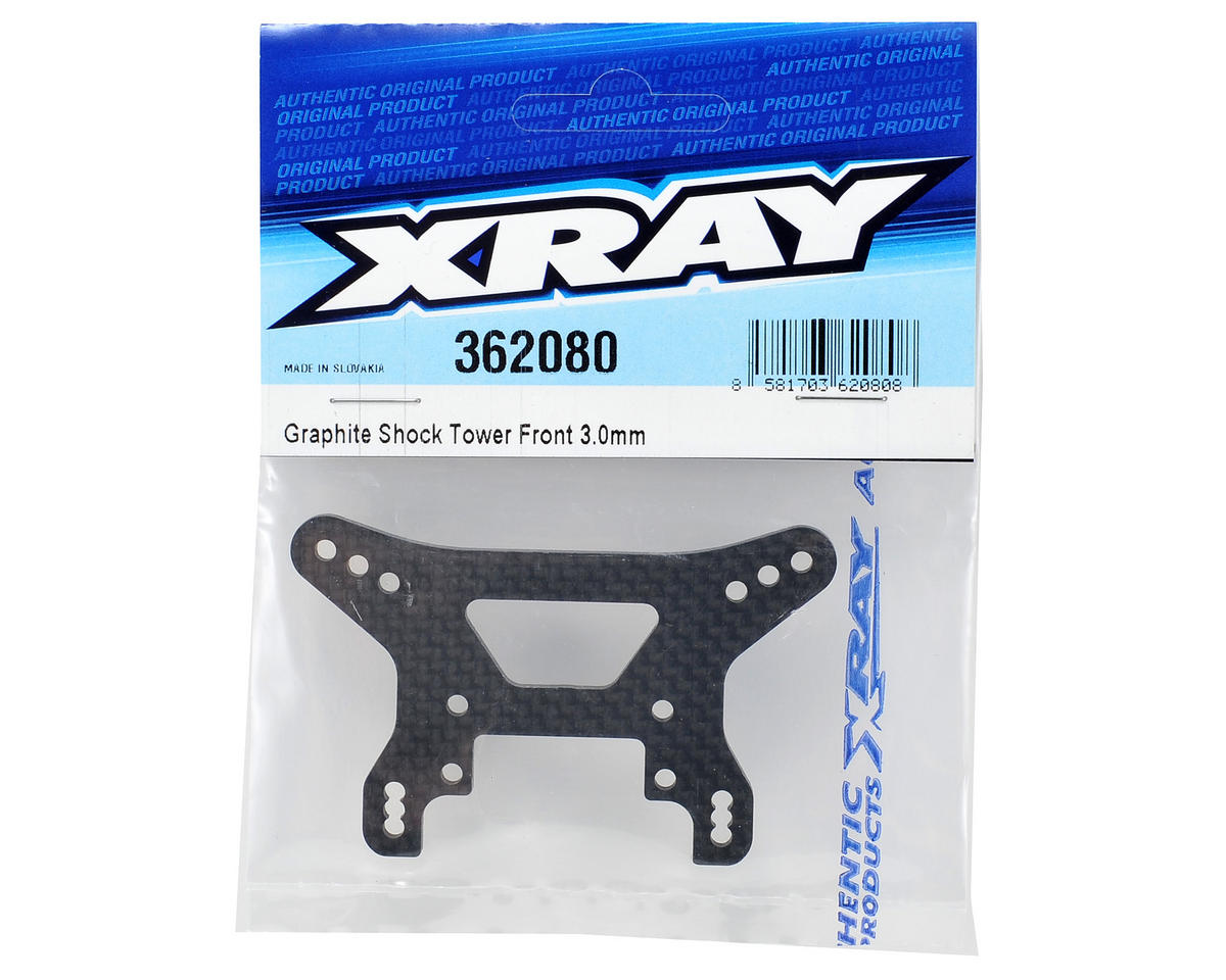 XRAY 3.0mm Front Graphite Shock Tower