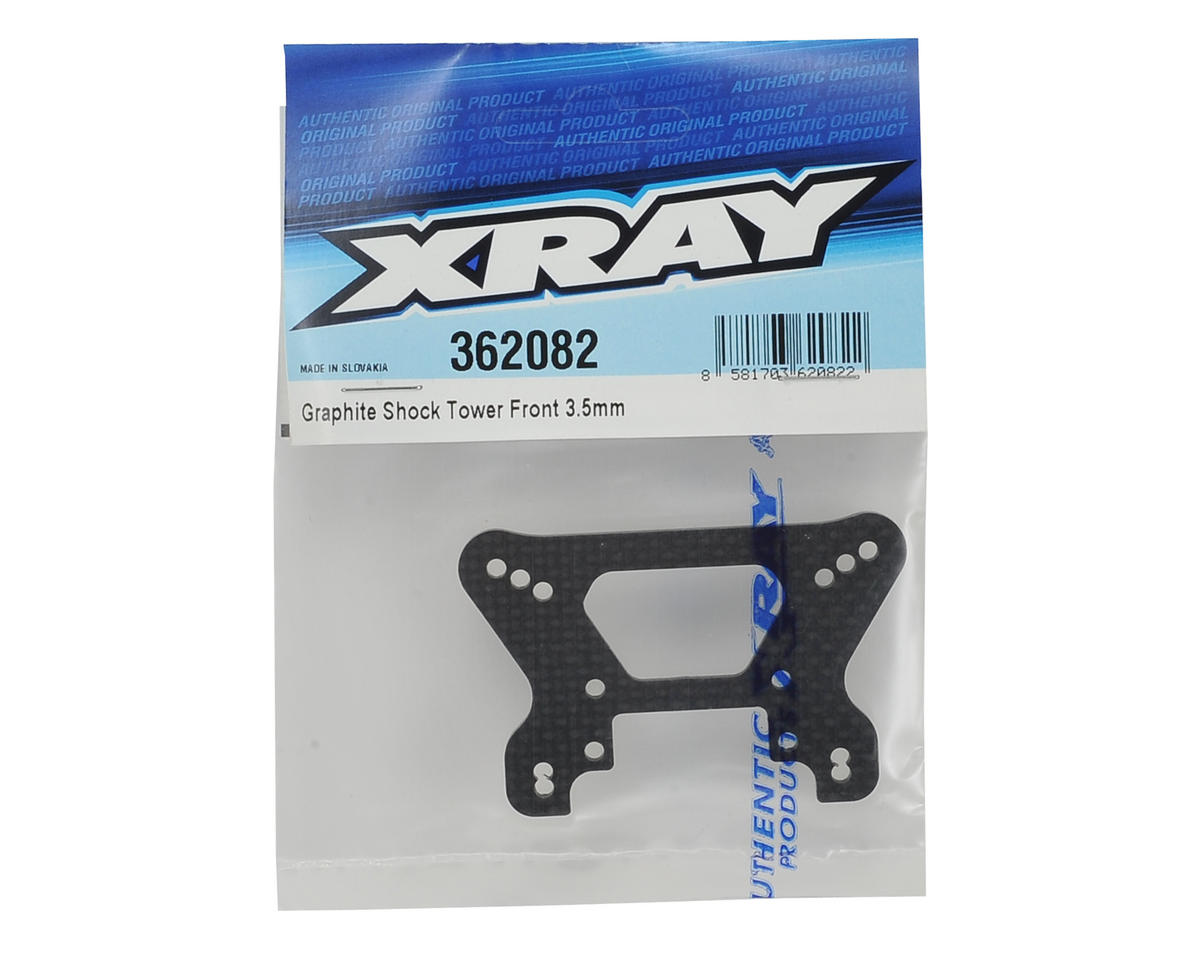 XRAY XB4 2016 3.5mm Graphite Front Shock Tower