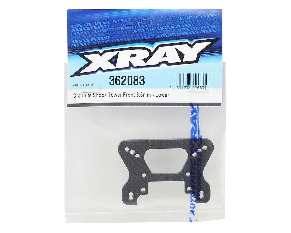 XRAY 3.5mm Graphite Front Shock Tower