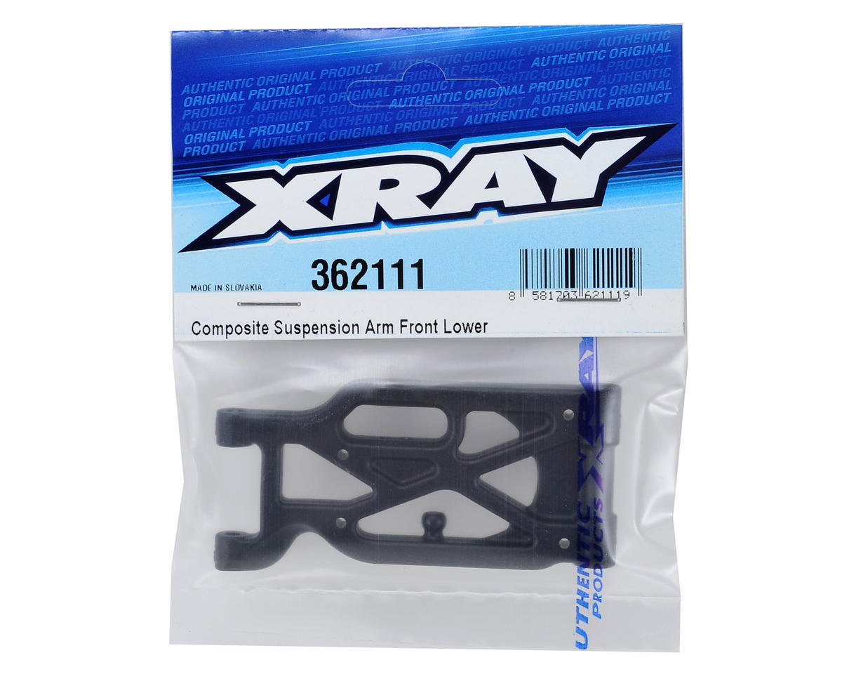 XB4 Composite Front Lower Suspension Arm by XRAY
