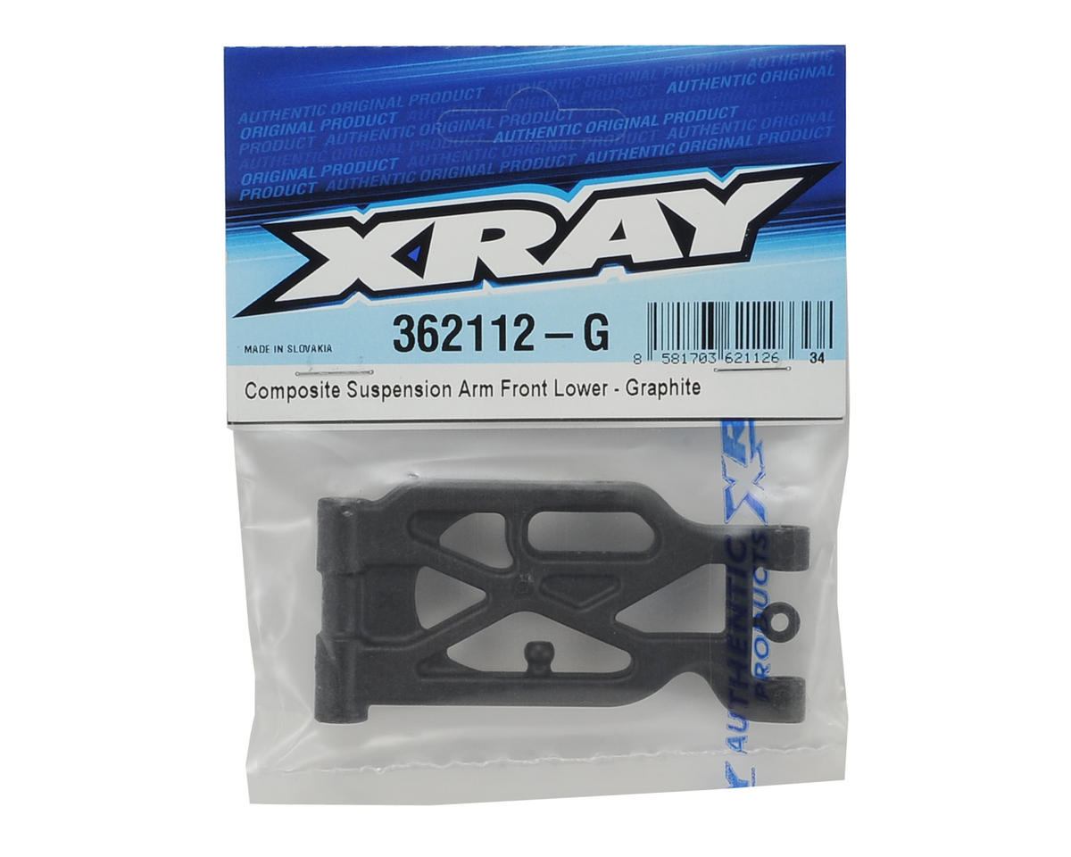 XRAY XB4 2016 Graphite Front Lower Suspension Arm