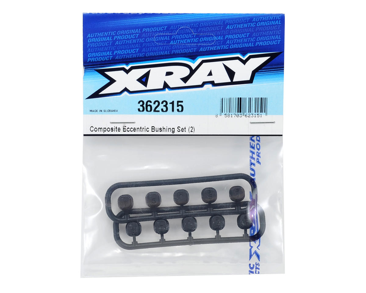 XRAY Eccentric Bushing Set (2)