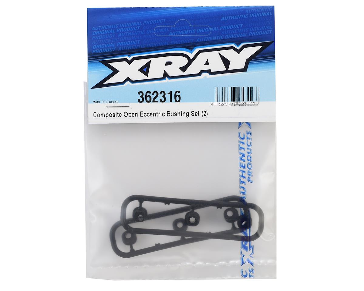 XRAY Open Eccentric Bushing Set (2)