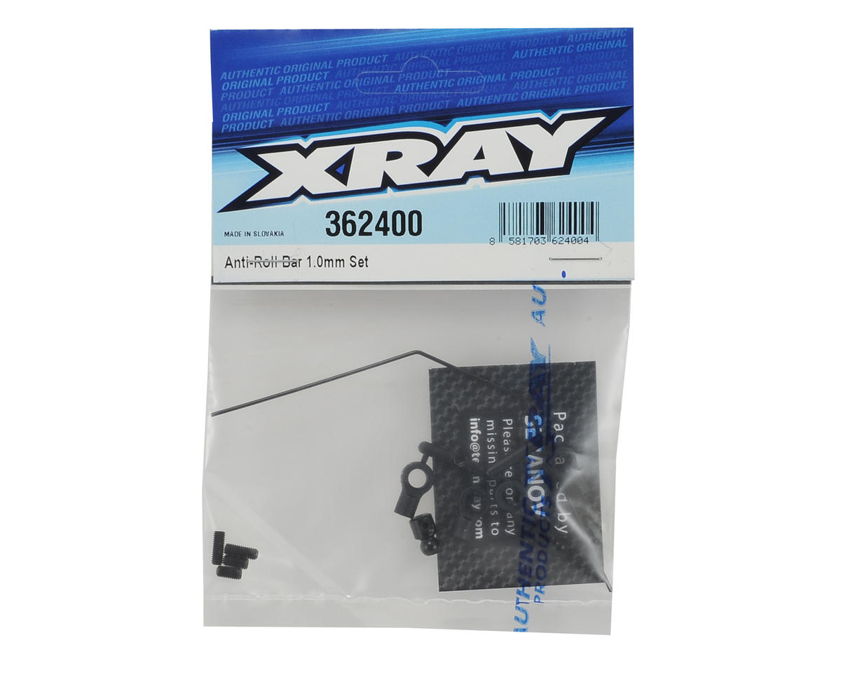 XRAY 1.0mm XB2 Anti-Roll Bar Set