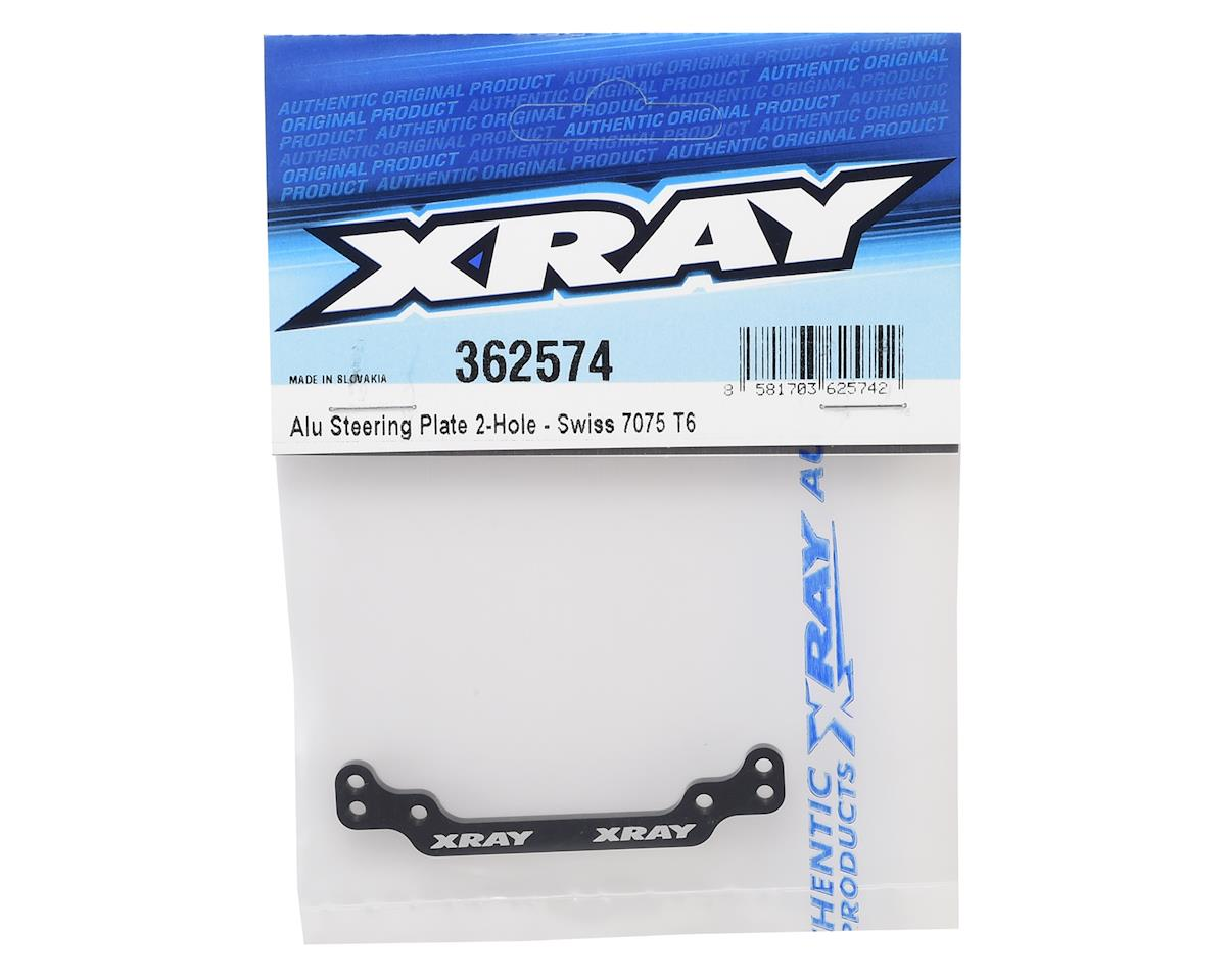 XRAY XB4 Aluminum 2-Hole Steering Plate