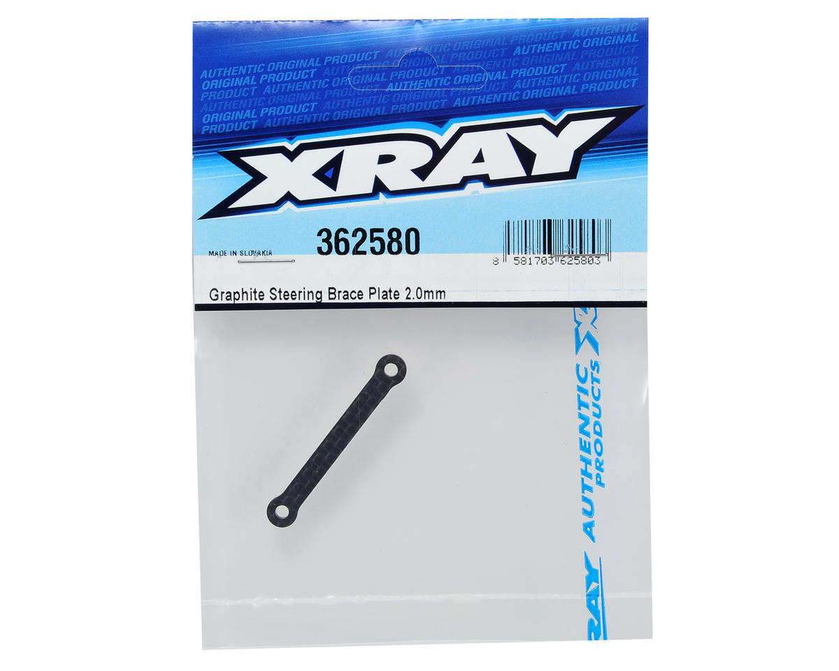 XRAY 2.0mm Graphite Steering Brace