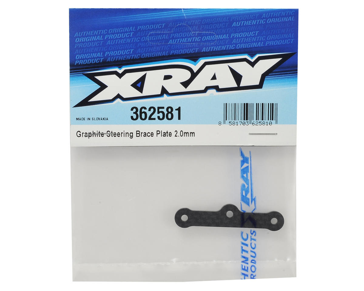 XRAY XB4 2016 2.0mm Graphite Steering Brace