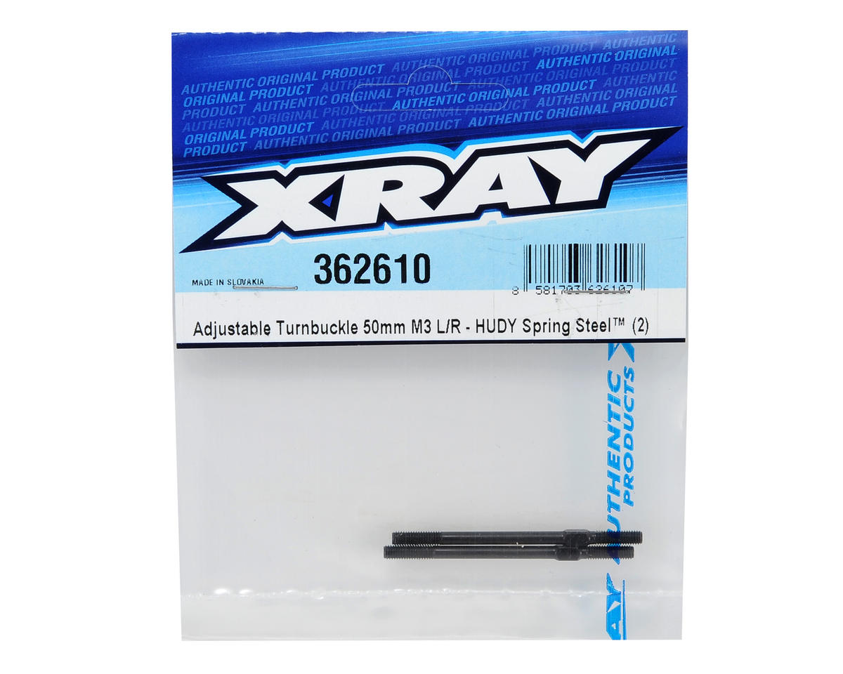 XRAY 3x50mm Adjustable Turnbuckle (2)