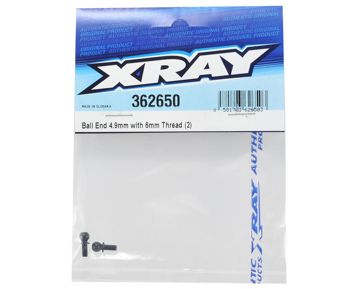 XRAY 4.9mm Ball End (2) (6mm Thread)