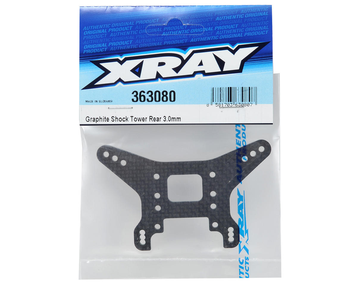XRAY 3.0mm Graphite Rear Shock Tower