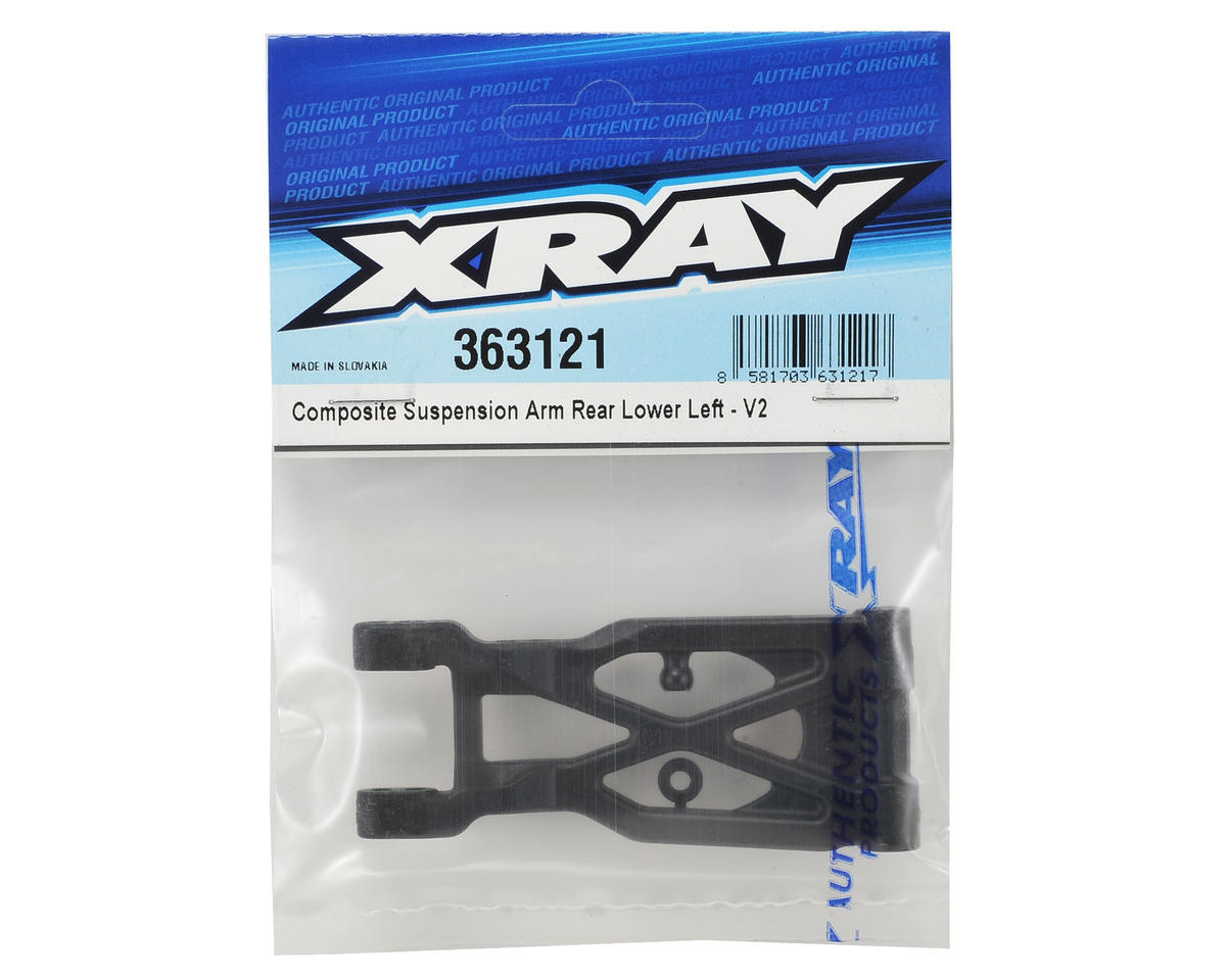 XRAY XB4 Composite Lower Left Rear Suspension Arm