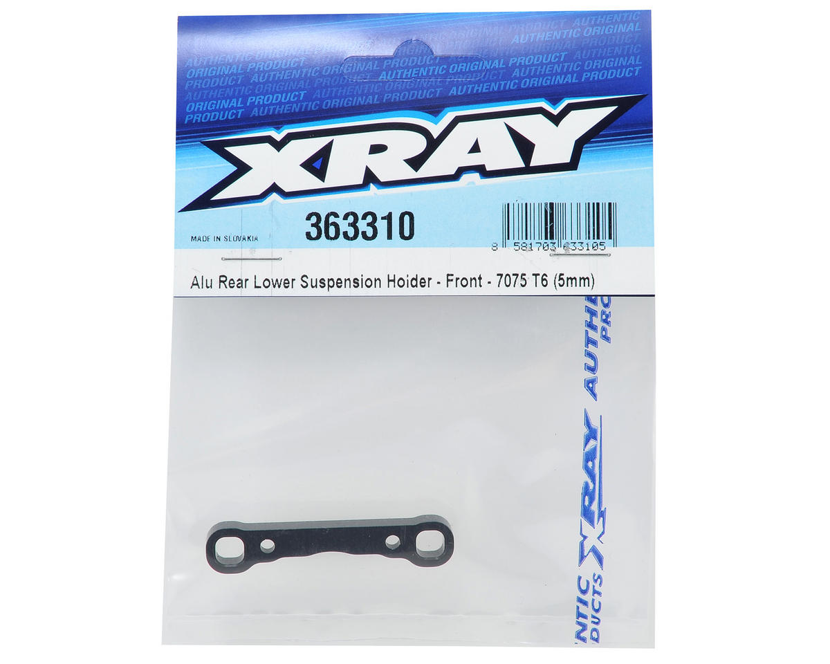 XRAY 5mm Rear-Front Aluminum Suspension Holder
