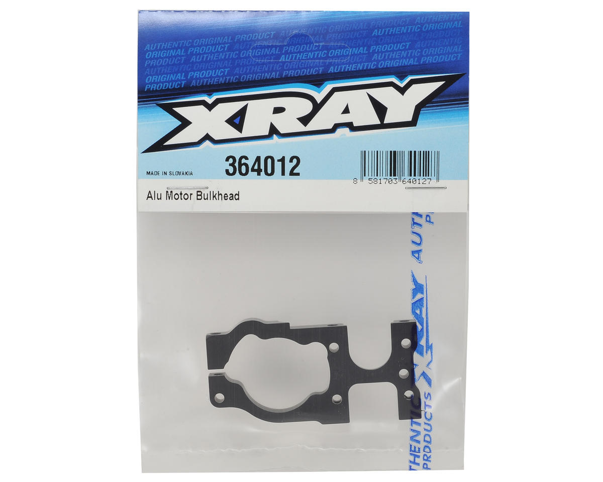 XRAY XB4 2016 Aluminum Motor Bulkhead