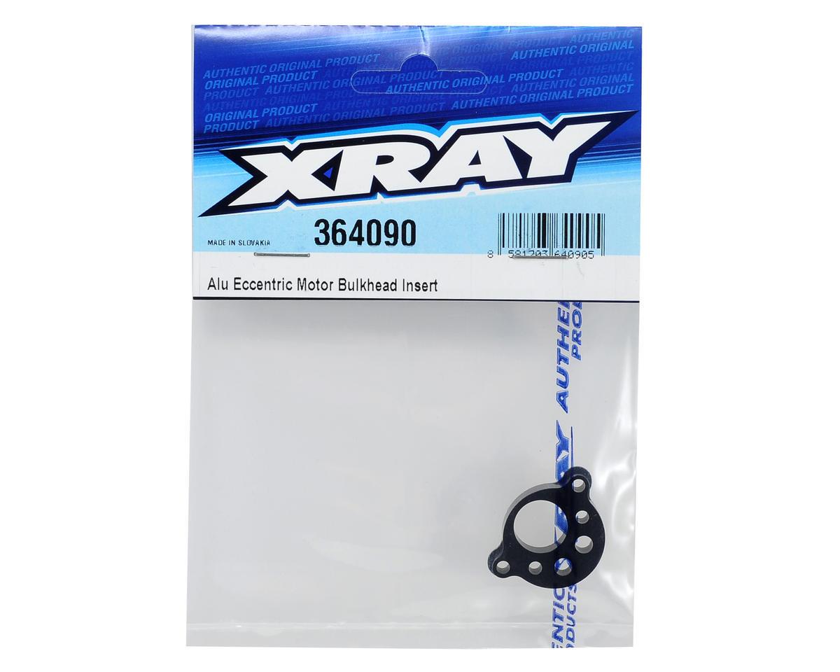 XRAY Aluminum Eccentric Motor Bulkhead Insert