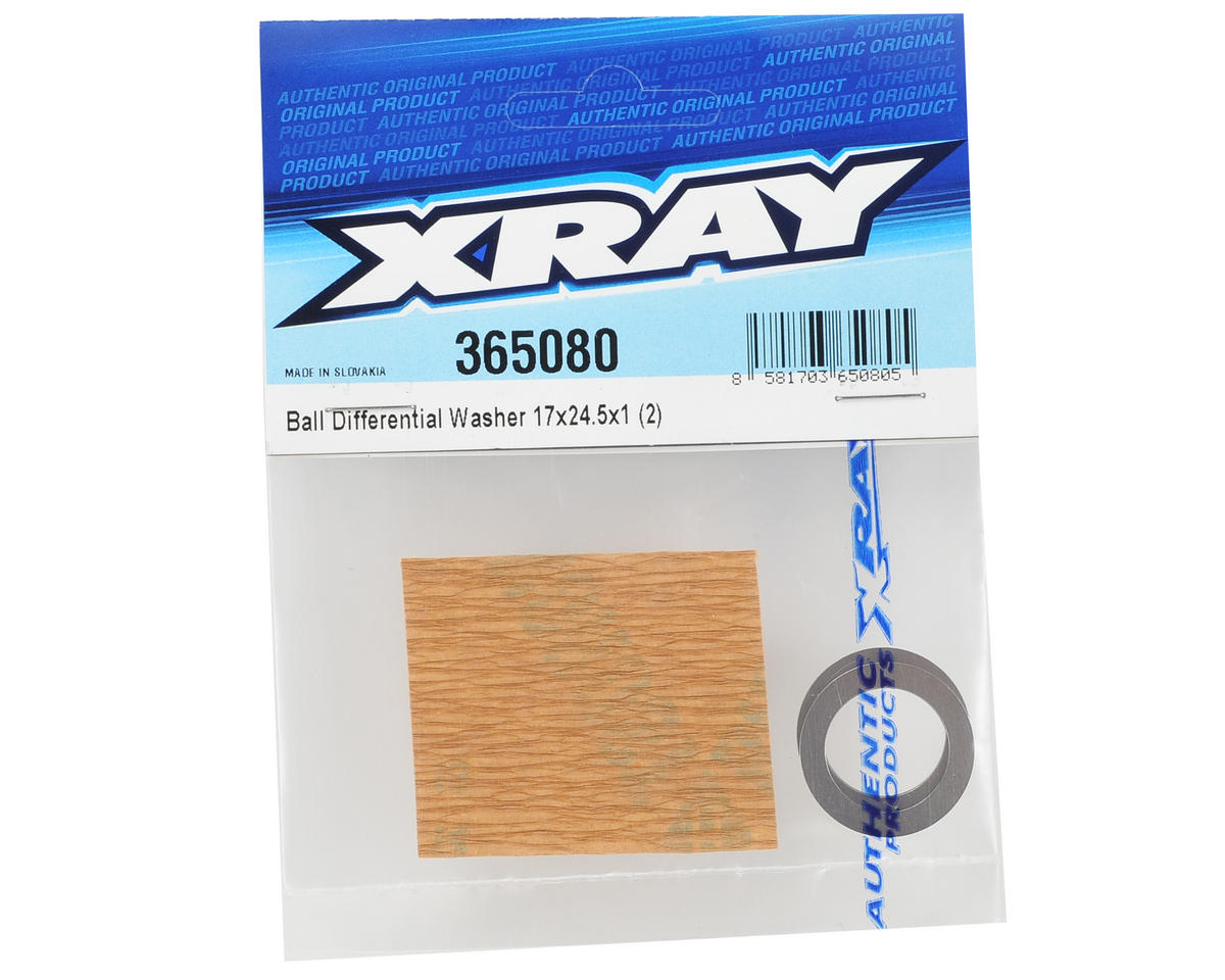XRAY 17x24.5x1mm Ball Differential Washer (2)
