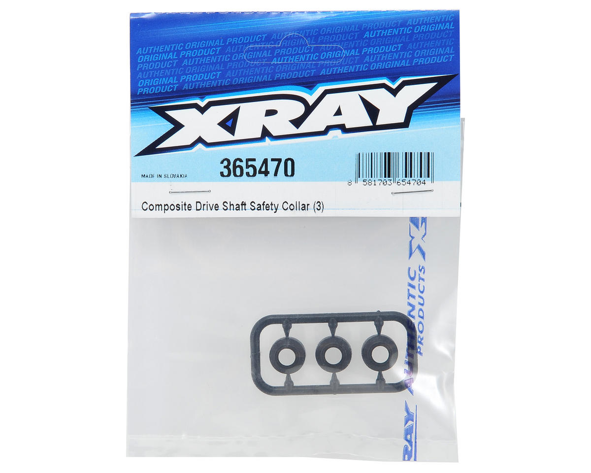 XRAY Composite Driveshaft Safety Collar Set (3)
