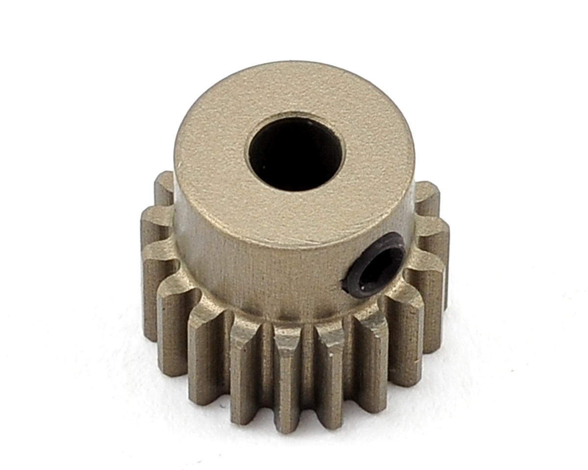 Aluminum 48P Hard Coated Pinion Gear (3.17mm Bore) (19T) by XRAY