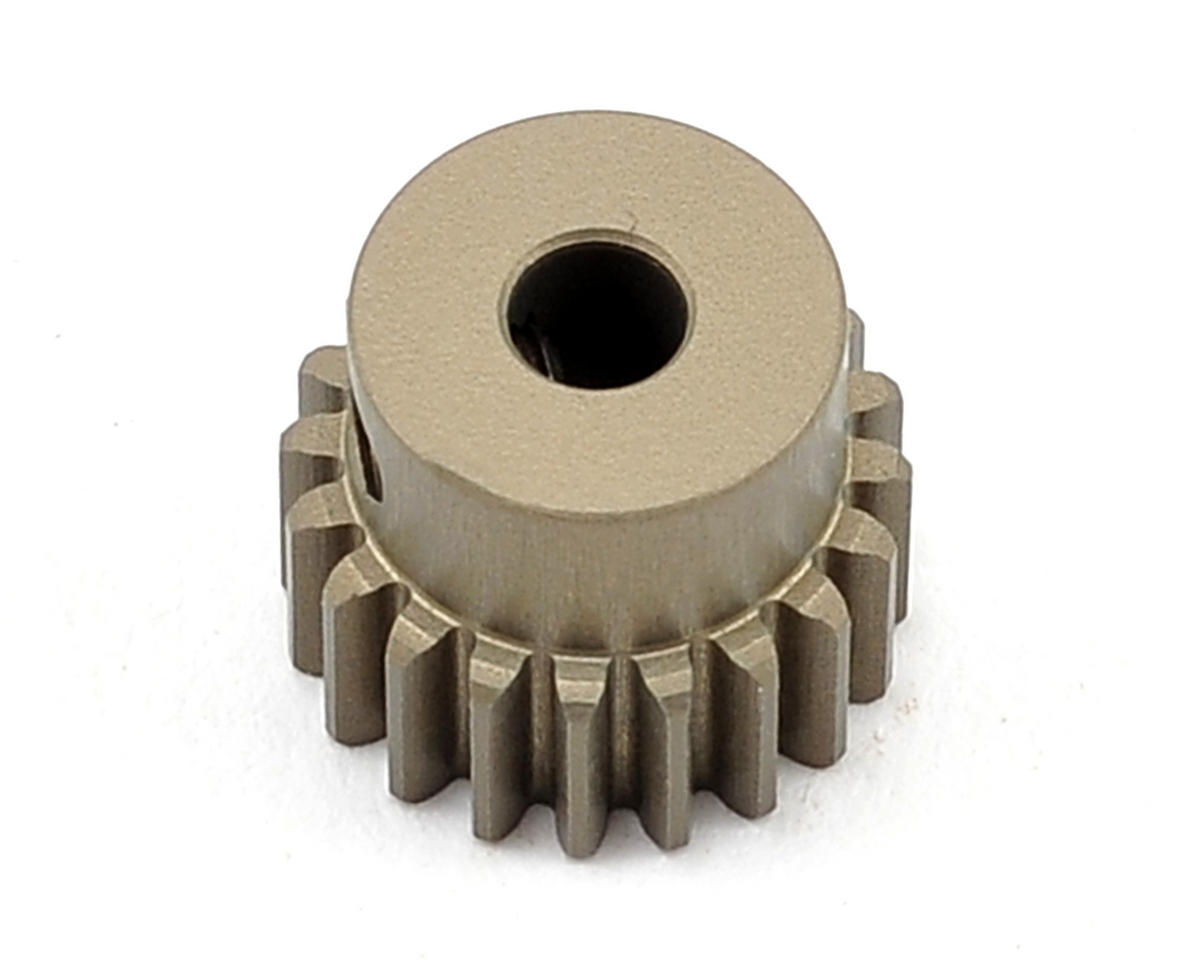 Aluminum 48P Hard Coated Pinion Gear (3.17mm Bore) (20T) by XRAY
