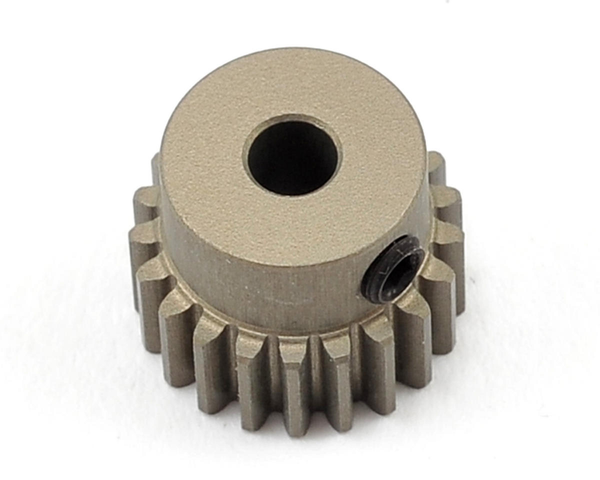 XRAY Aluminum 48P Hard Coated Pinion Gear (3.17mm Bore) (21T)