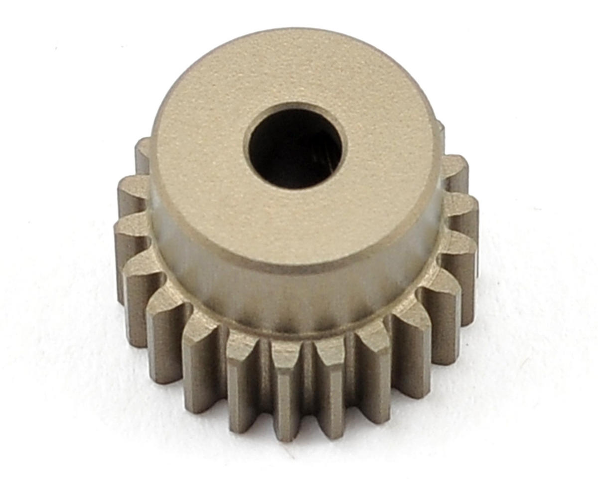 XRAY Aluminum 48P Hard Coated Pinion Gear (3.17mm Bore) (22T)