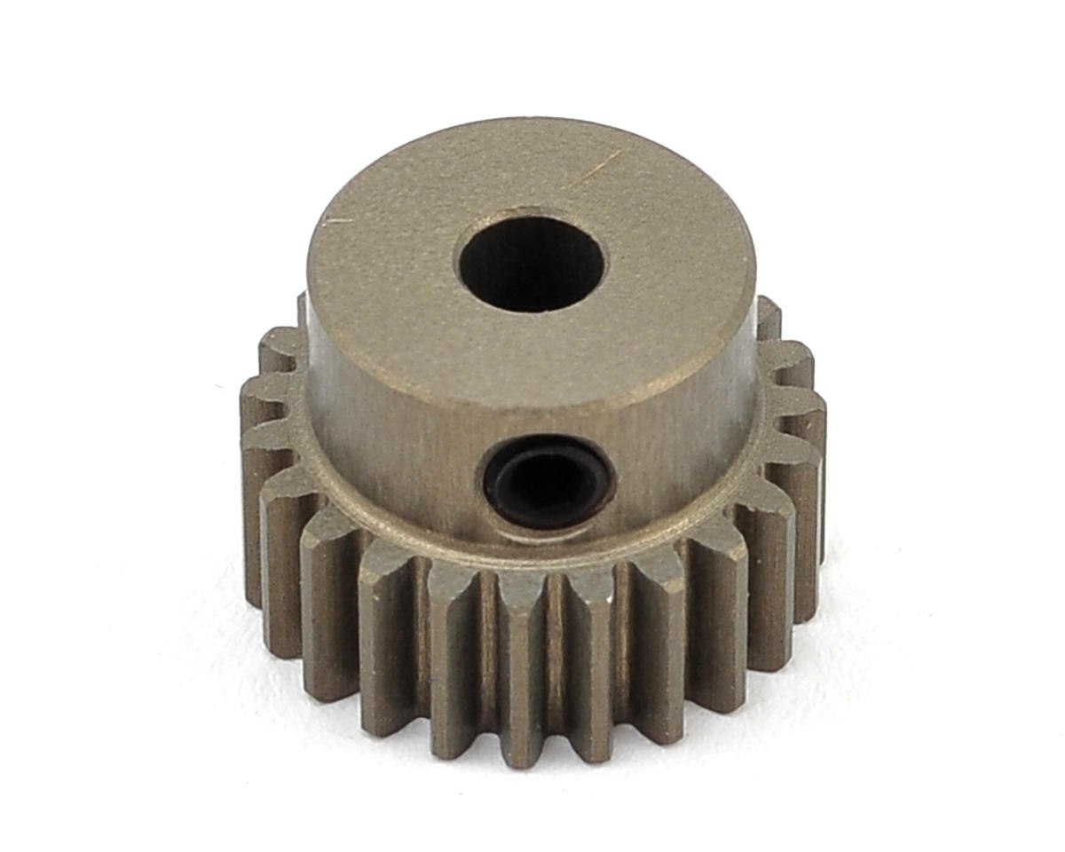 Aluminum 48P Hard Coated Pinion Gear (3.17mm Bore) (23T) by XRAY