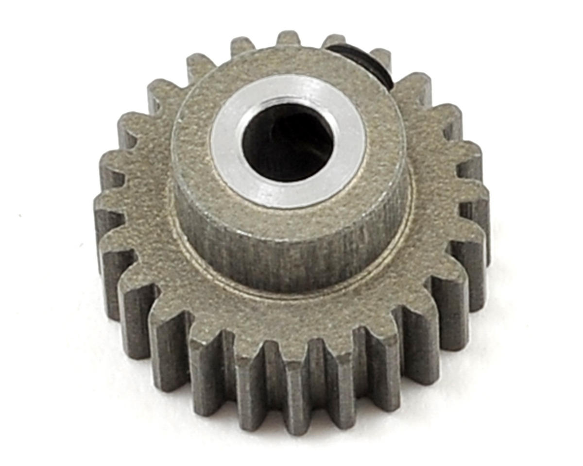 Aluminum 48P Hard Coated Pinion Gear (3.17mm Bore) (24T) by XRAY