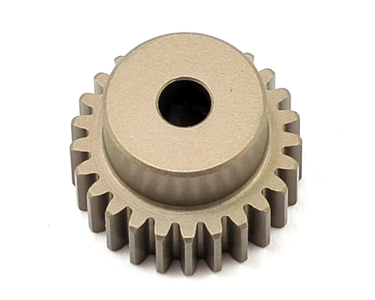 Aluminum 48P Hard Coated Pinion Gear (3.17mm Bore) (25T) by XRAY