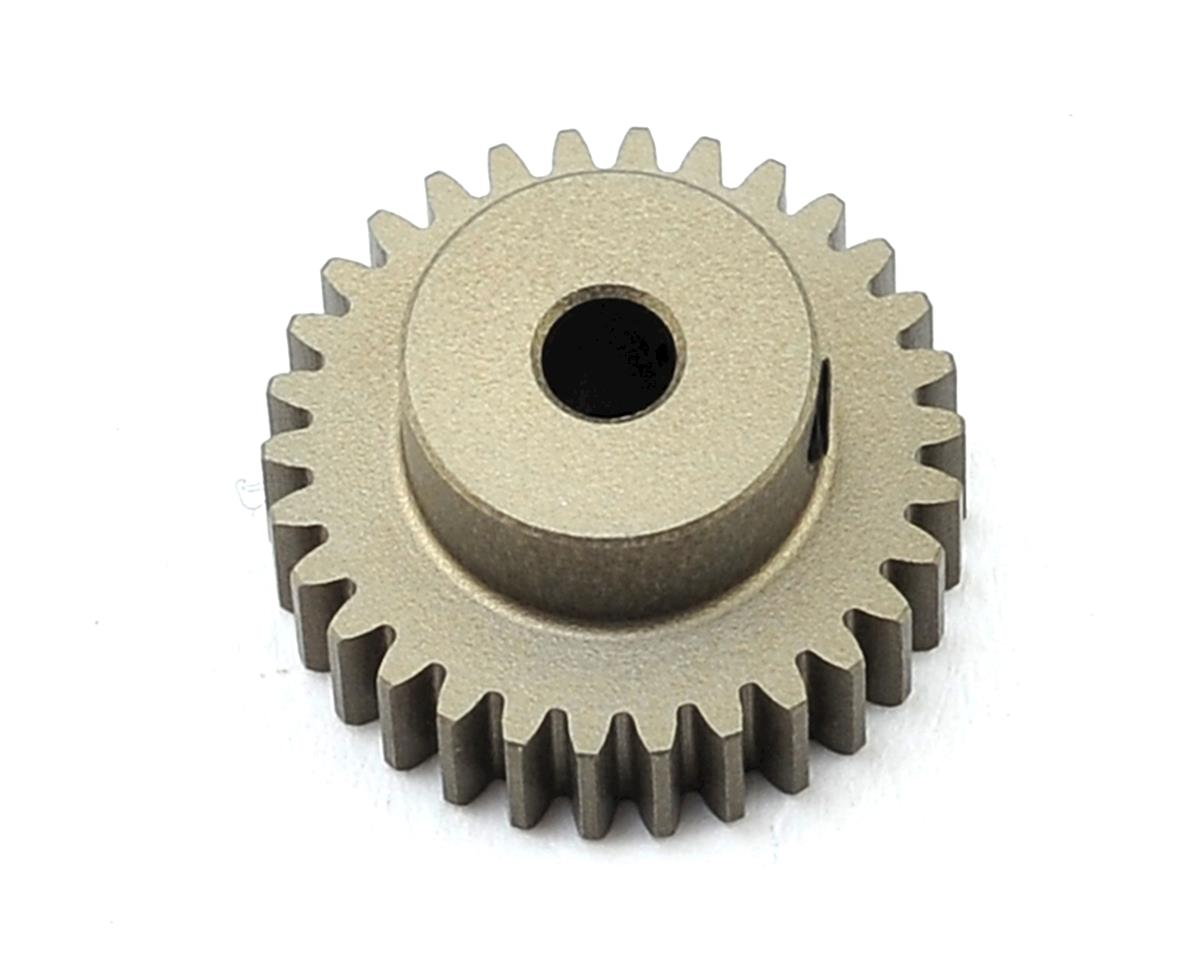 Aluminum 48P Hard Coated Pinion Gear (3.17mm Bore) (30T) by XRAY