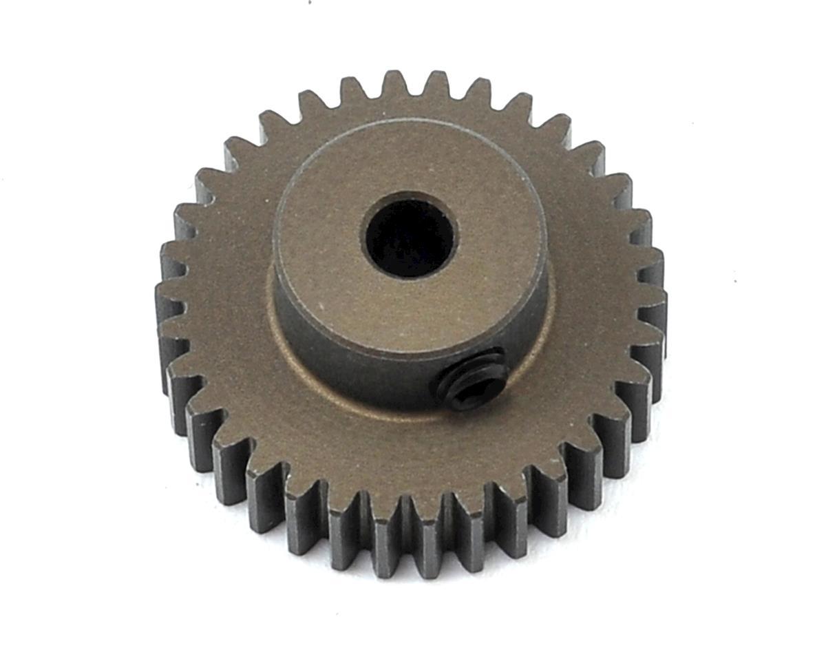 XRAY Aluminum 48P Hard Coated Pinion Gear (3.17mm Bore) (34T)