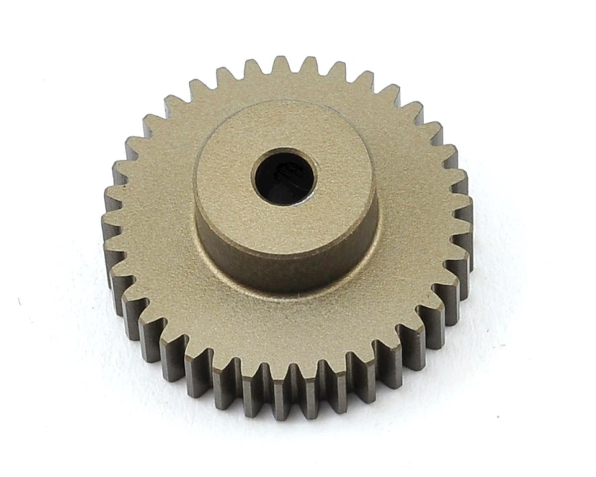 Aluminum 48P Hard Coated Pinion Gear (3.17mm Bore) (37T) by XRAY