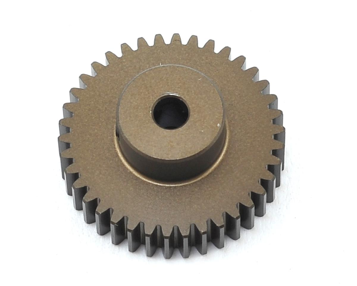 XRAY Aluminum 48P Hard Coated Pinion Gear (3.17mm Bore) (38T)