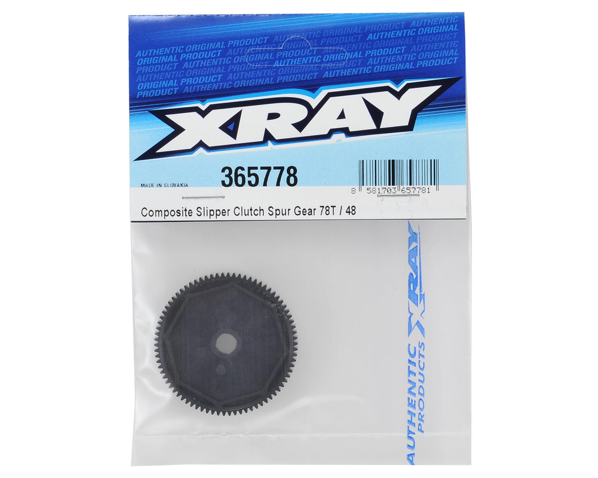 XRAY 48P Composite Slipper Clutch Spur Gear (78T)